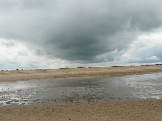 North-west Norfolk: storm approaching