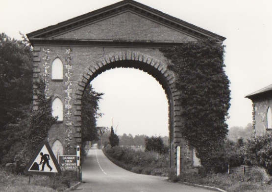 Westwick Arch, now demolished