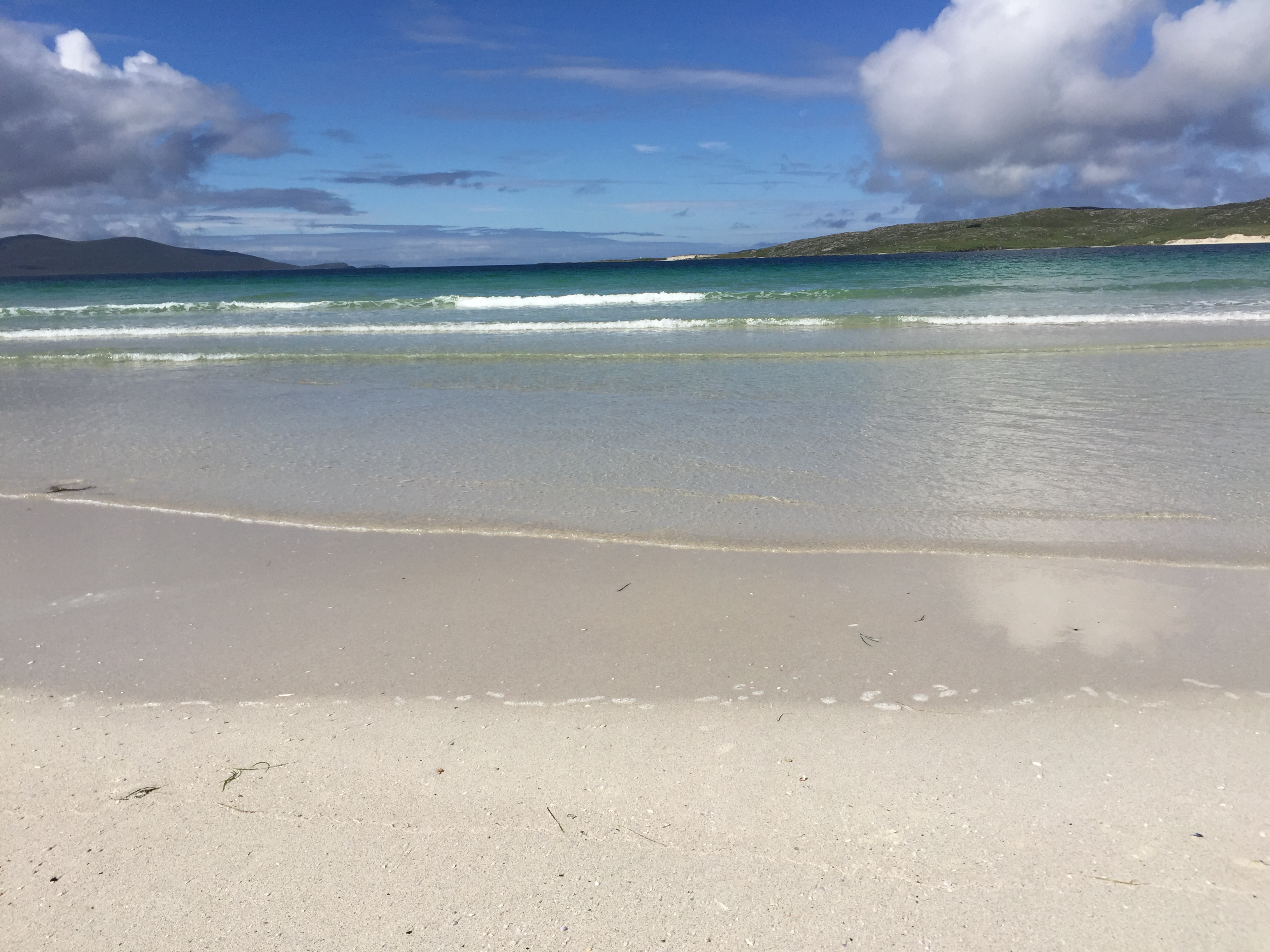 Luskentyre beach in Harris, Outer Hebrides